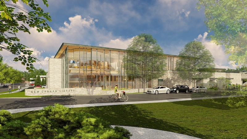Project Q&A: New Canaan Library